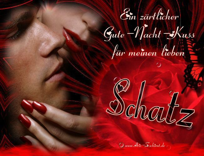 Ein Zärtlicher Gute Nacht Kuss Für Meinen Lieben Schatz Gute Nacht