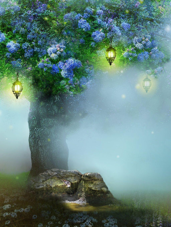 Glimpse Of Eden Petals Of Blues By Brookegillette Deviantart Com On