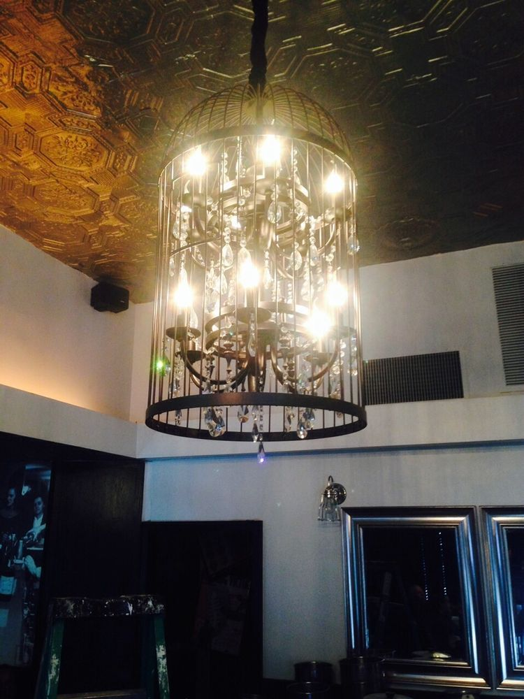 Vintage Birdcage Chandelier love for staircase