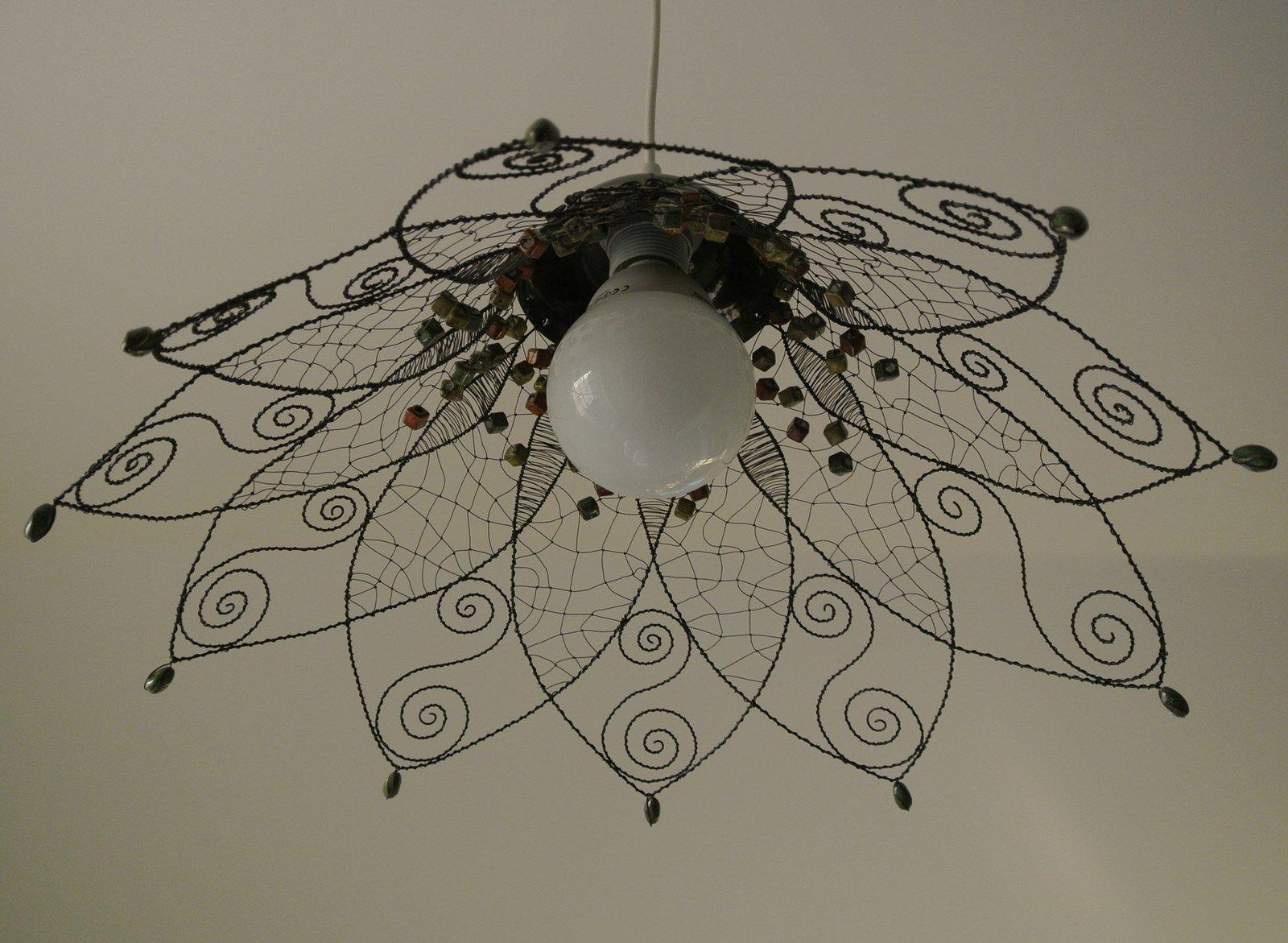 Stnidlo s keramikou druh drtek pinterest wire art wire stnidlo s keramikou druh wire lampshadelampshade ideaslampshadeswire greentooth Choice Image