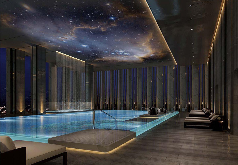Wanda Vista Hotel One Nine Elms, Battersea London — PJC Light Studio