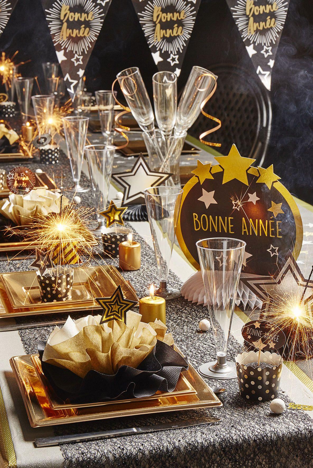 Decoration De Salle Pour Nouvel An grande table festive pour le nouvel an ! ? | recette de
