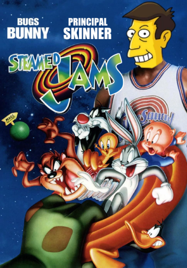Come on and Clam Crossovers and Memes Space jam, Vhs