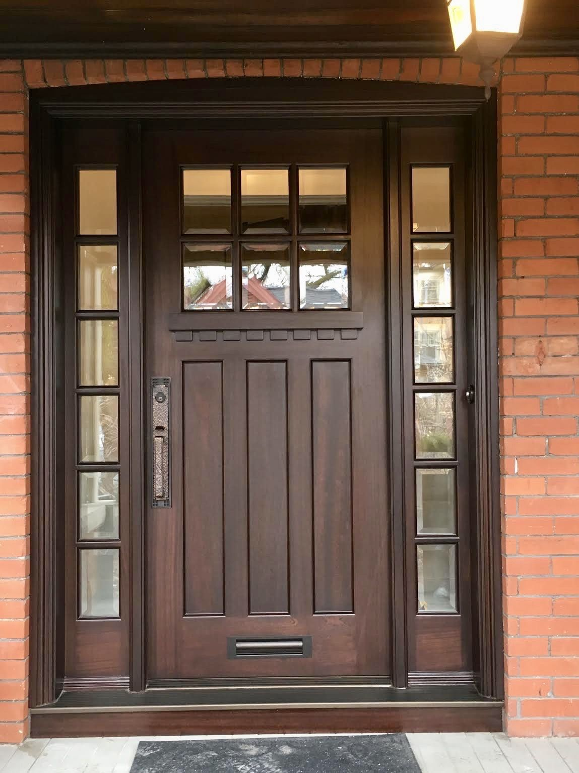 Single Entry Doors Amberwood Doors Inc Entry Doors Craftsman