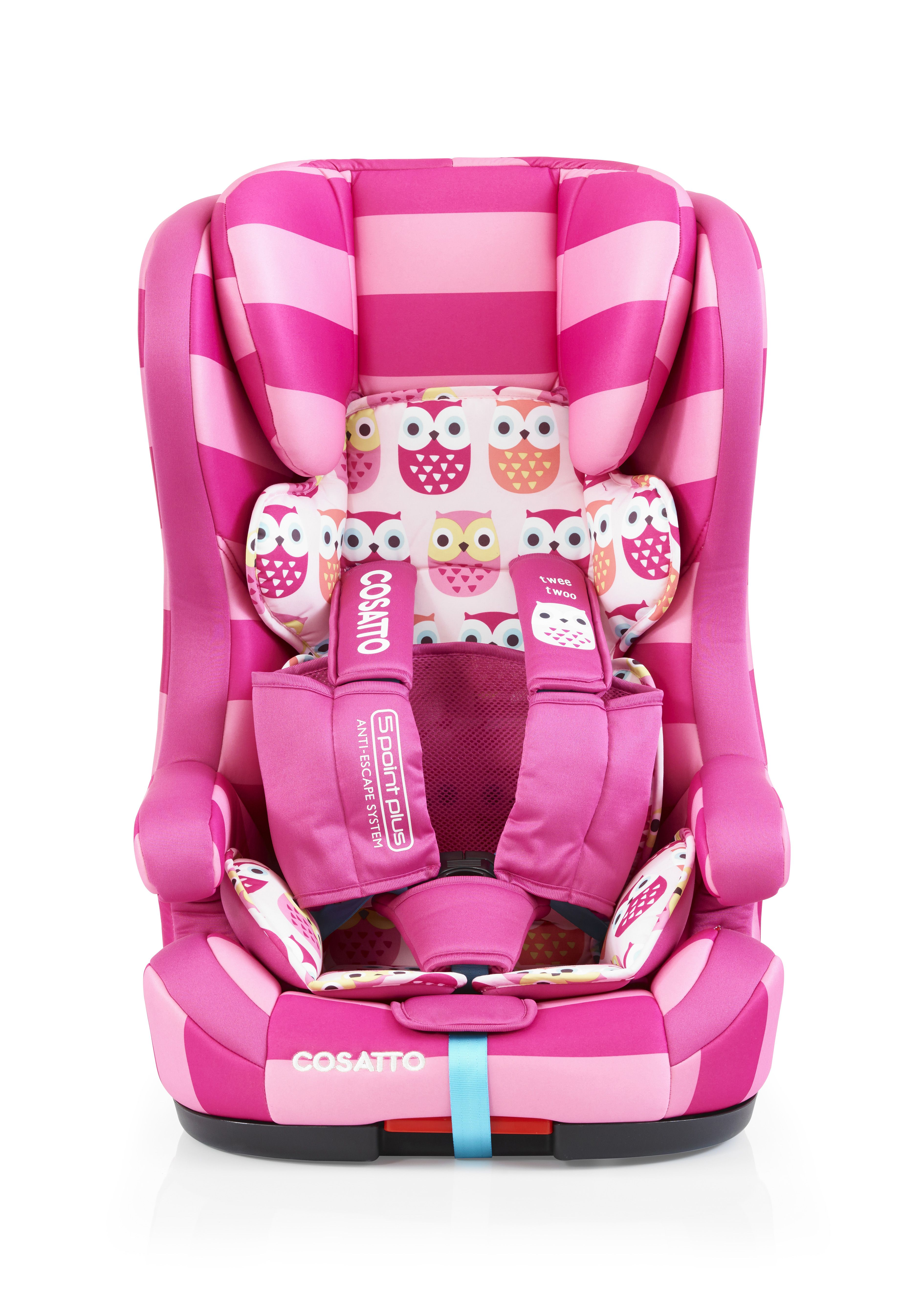 Cosatto Hubbub Isofix Group 123 in Twee Twoo Completely
