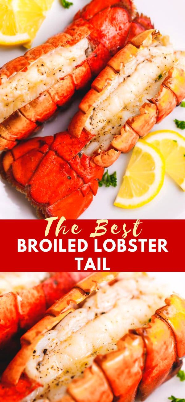 Broiled Lobster Tail - Cooking LSL