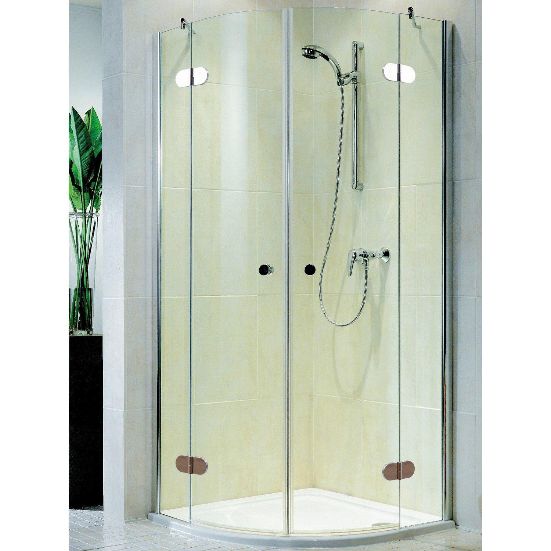 Schulte Master Class Runddusche 4 Teilig 90 Cm X 90 Cm Echtglas Badezimmer Inspiration Duschwand Und Bad Sanitar