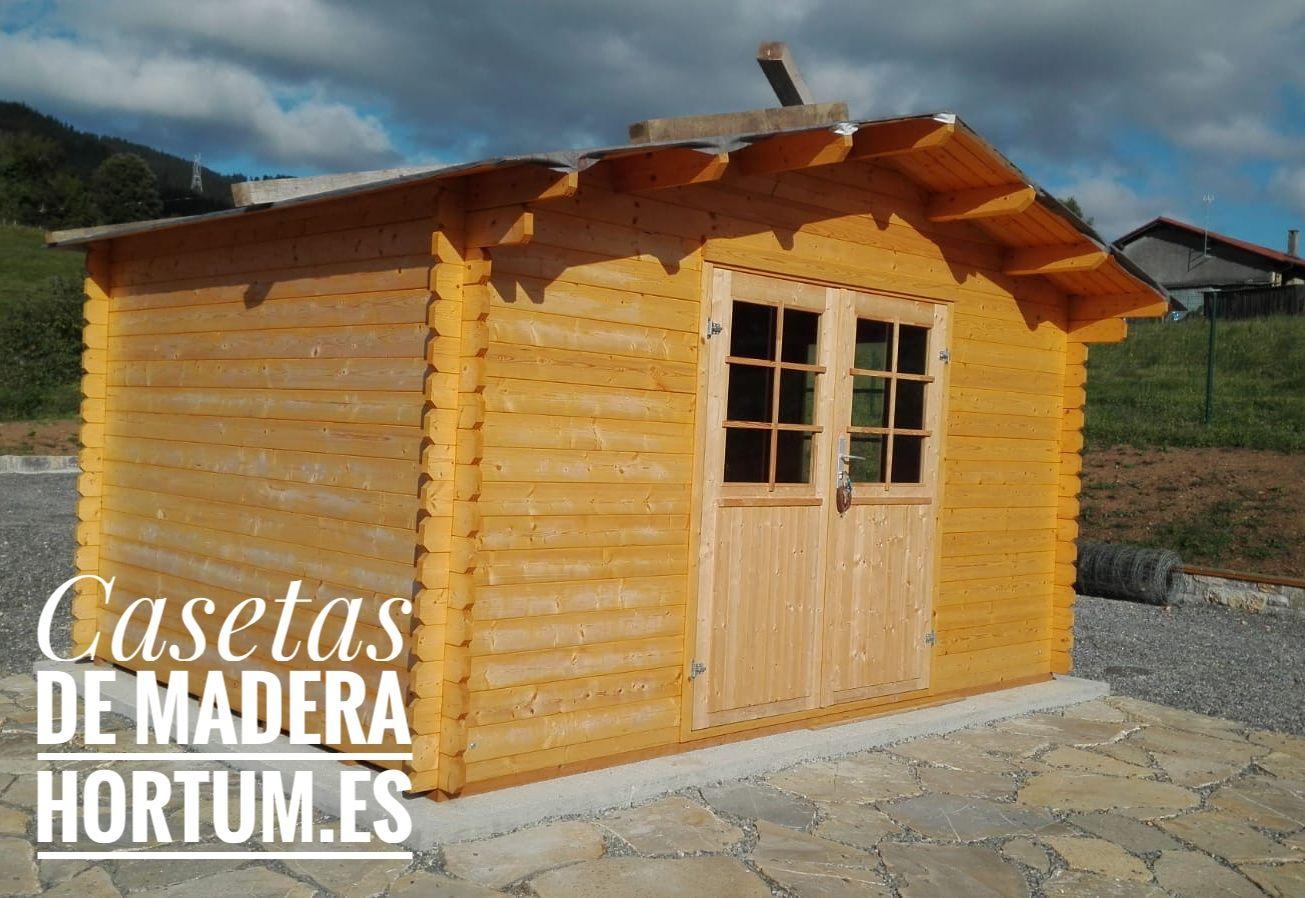 Caseta De Madera Para Jardin Palmako Cabanas De Madera Faciles De Montar Caseta De Madera De Madera Cobertizos De Madera