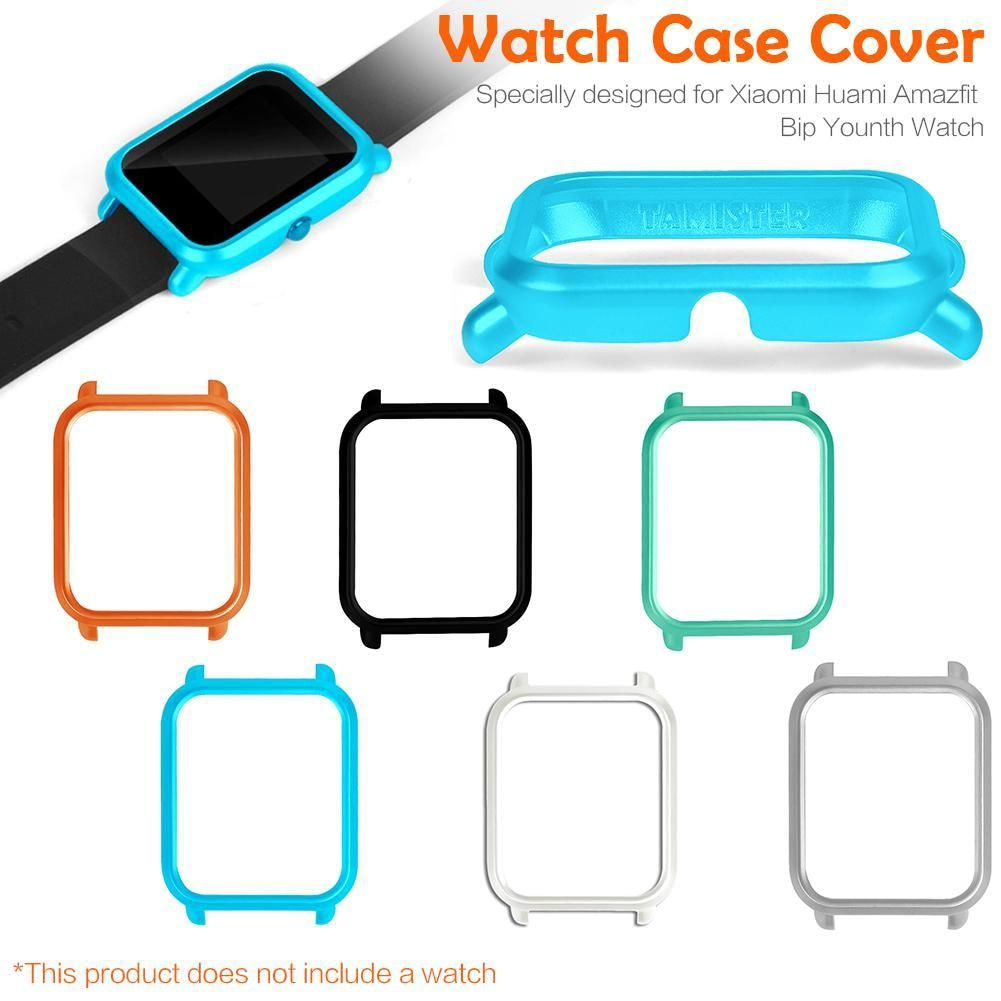 High Quality Smart Watch Protector Case Slim For Huami Amazfit Bip Xiaomi Cover Protect Shell Youth Colorful Frame Pc Protective Yesterdays Price Us 208