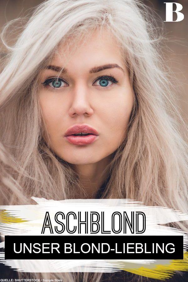 Aschblond - das ist jetzt DIE Farbe für blonde Haare