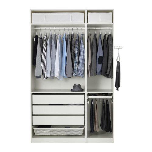 PAX Garderobeskab - -, hængsel, lukker blødt - IKEA