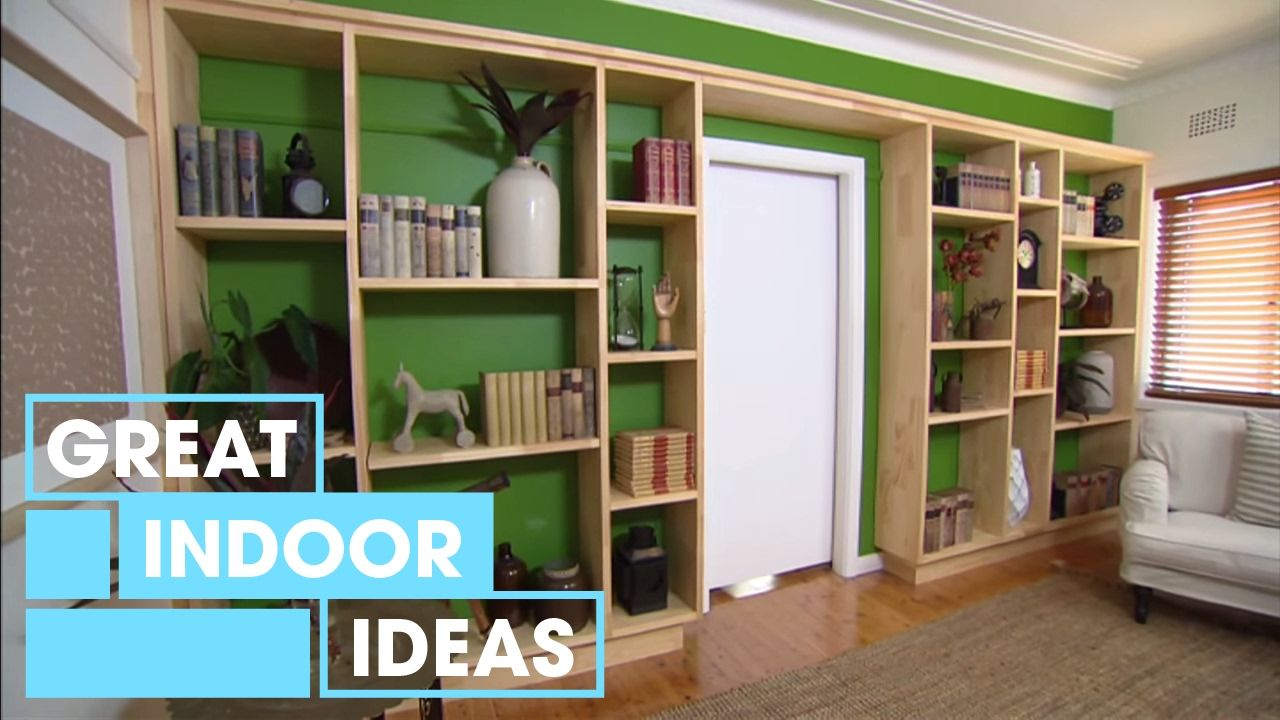 How To Build A Custom Wall Unit | Indoor | Great Home Ideas ...
