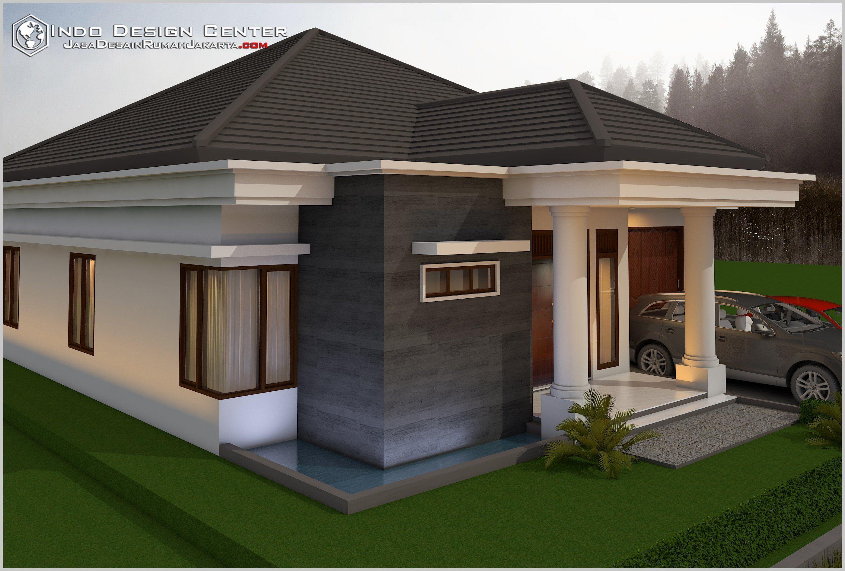 Rumah Idaman Sederhana Di Desa House Design Bungalow House Design House Plans Mansion Rumah di desa sederhana