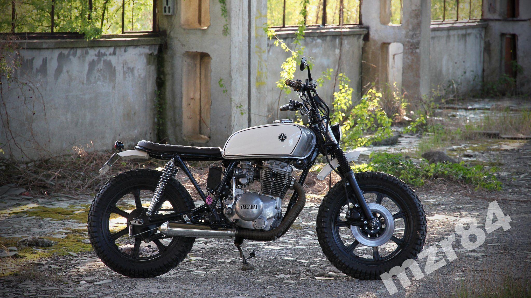 Yamaha Xs400 Scrambler Brat Cafe Racer Street 6424652001 Oficjalne Archiwum Allegro Moped Motorrad
