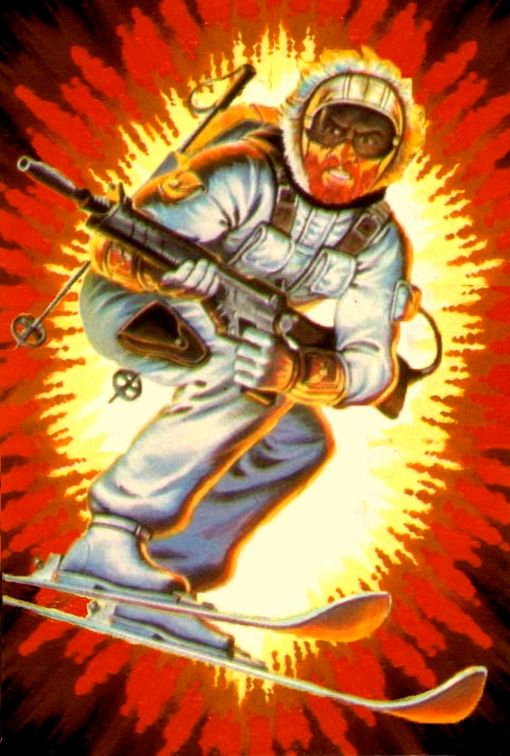 Image result for gi joe snow job cartoon