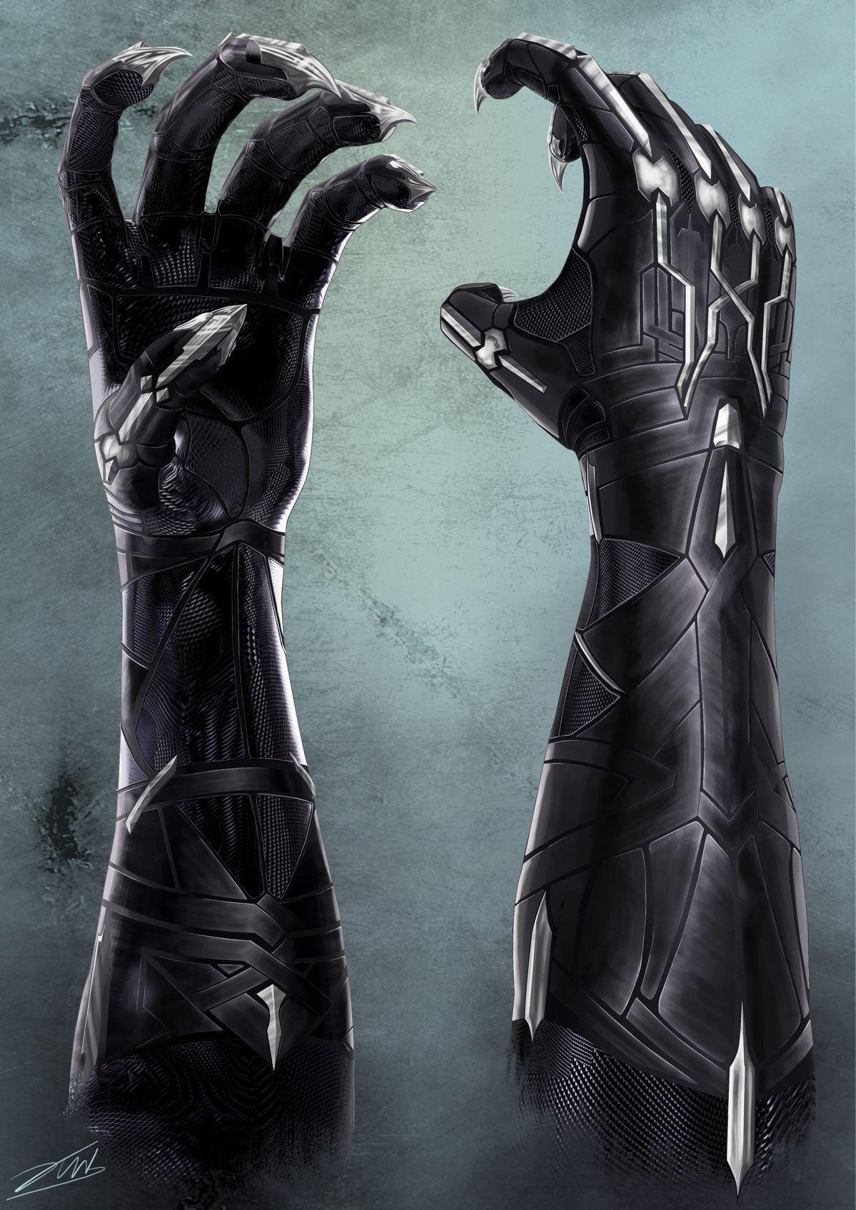 Panther Claws   Pantera negra, Pantera negra de marvel y ...