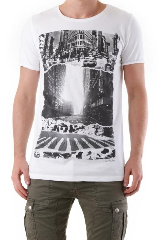 T-Shirt Uomo Absolut Joy (VI-K0456) colore Bianco