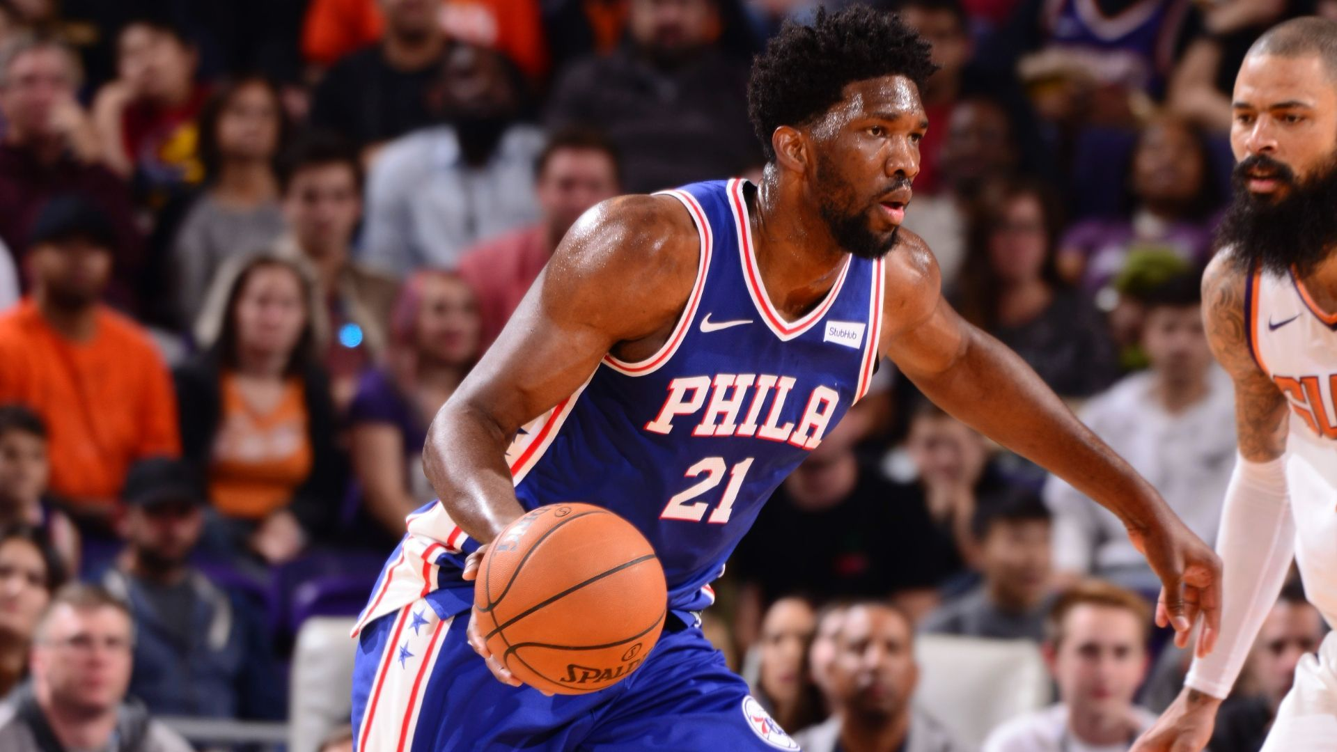 Balanced attack powers 76ers past Suns ESPN Video