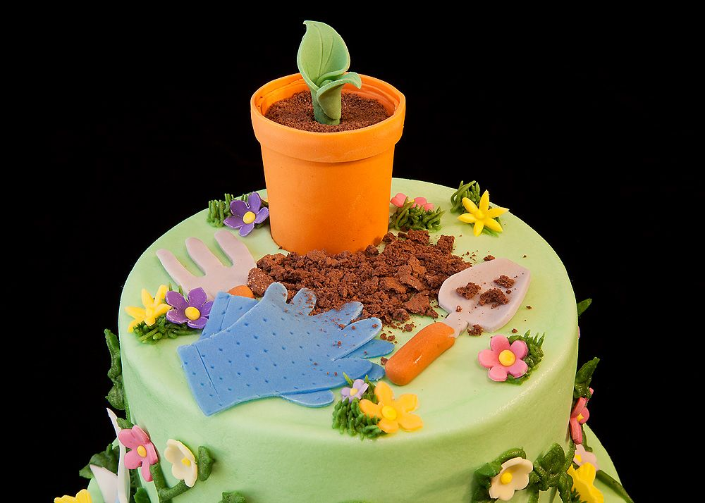 cakes for the gardeners birthday Birthday 080B Gardeners
