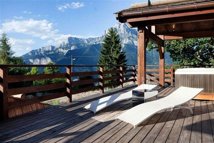 Chalet in French Alps, In Combloux near Megeve | Views from our ...