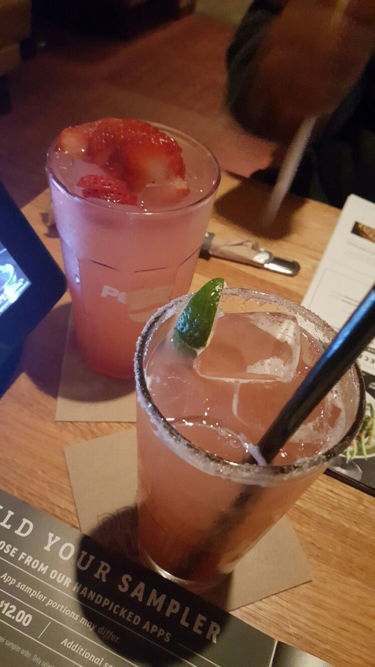 Applebees Mixed Drinks Menu