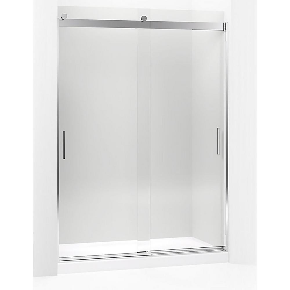 Kohler Levity 59 625 In W X 82 In H Frameless Sliding Shower