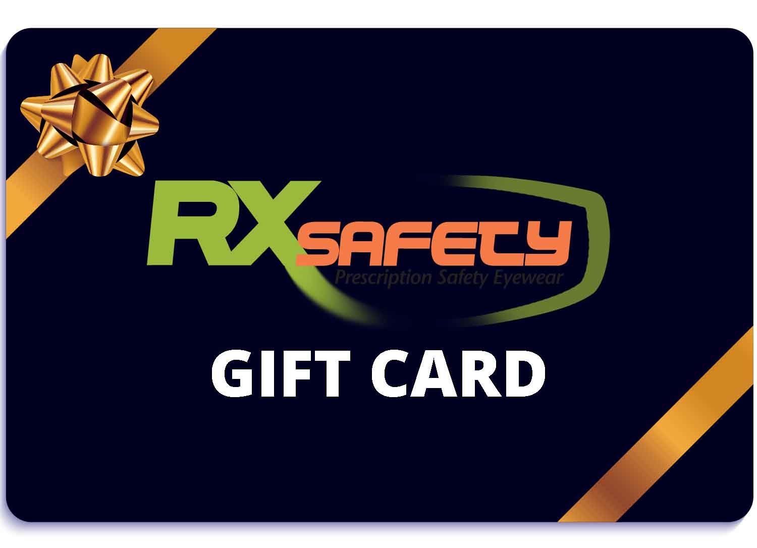 Gift Card Rx Prescription Safety Glasses in 2020