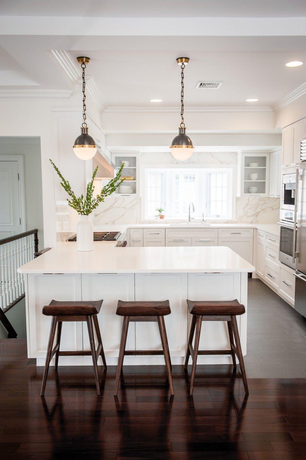 Anna\'s Modern Classic Kitchen Remodel | Modern classic, Swing top ...