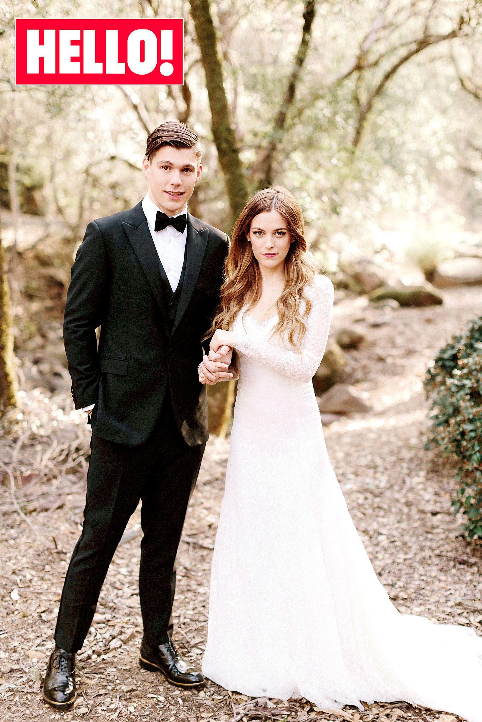 See Riley In Her Wedding Dress Next To Mom Lisa Marie Grandma