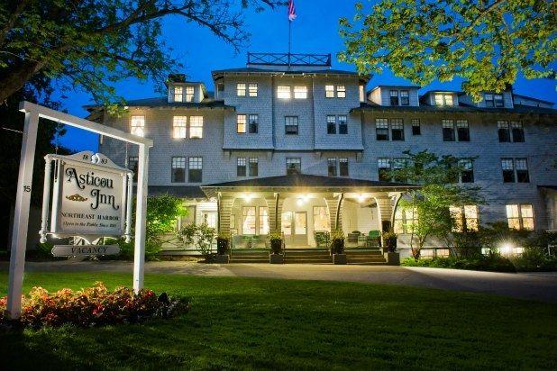 Asticou Inn (Northeast Harbor, Maine) — Last Minute Labor Day Trip Ideas