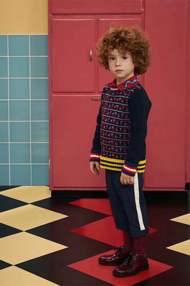 A Brand That Needs No Introduction Gucci Kids Is The High