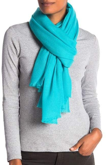 6b8fb6a07f62 Portolano Solid Cashmere Scarf   Products   Pinterest   Products