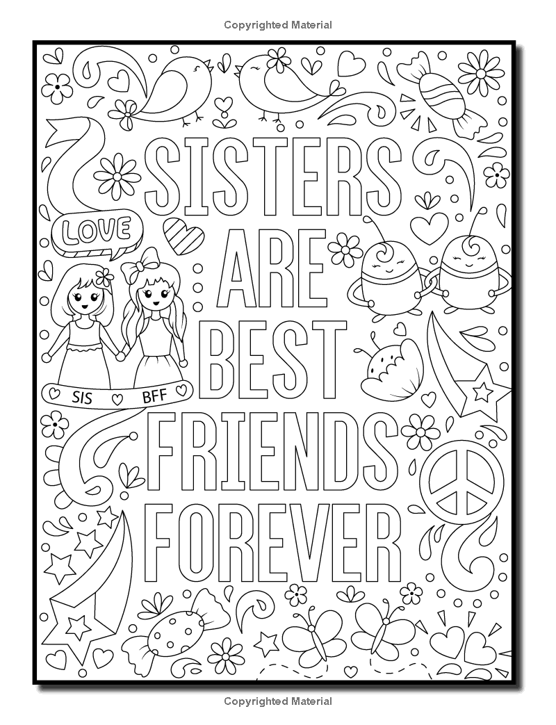 Amazon.com: Proud to be a Girl: An Adult Coloring Book for Girls ...