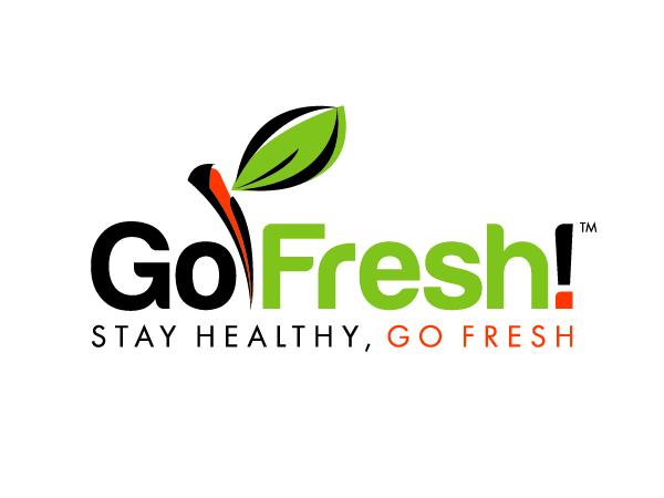 Modern Playful It Company Logo Design For Go Fresh Stay Healthy Go Fresh By Cestudio Design 592098 Food Company Logo Healthy Food Logo Company Meals