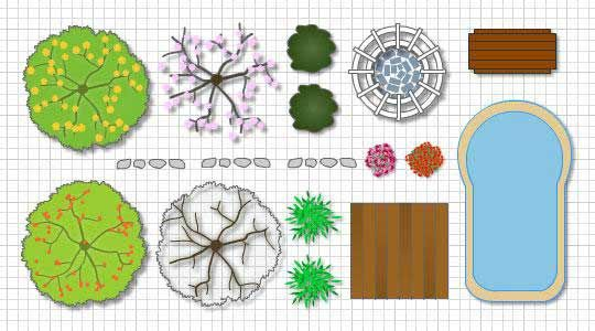 Landscape Design Tools | LA Trær | Pinterest | Landscape designs ...