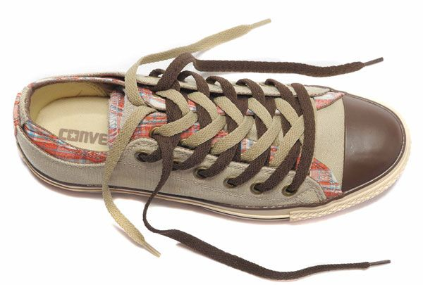All Star Converse Rens Double Upper langue Oxford Low Tops