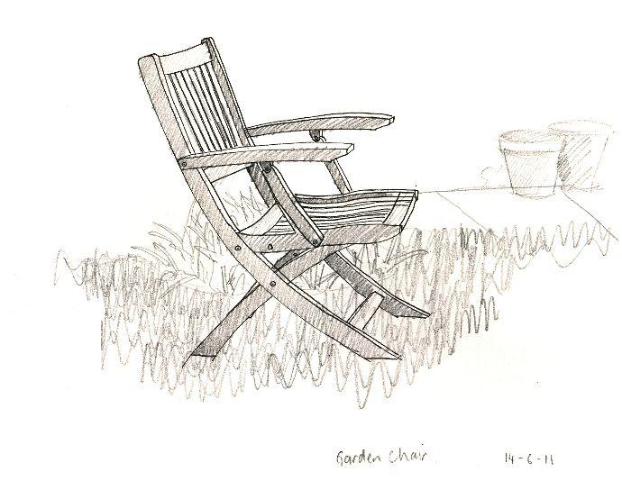 Garden Chair Sketch Garden Chairs Chair Outdoor Chairs