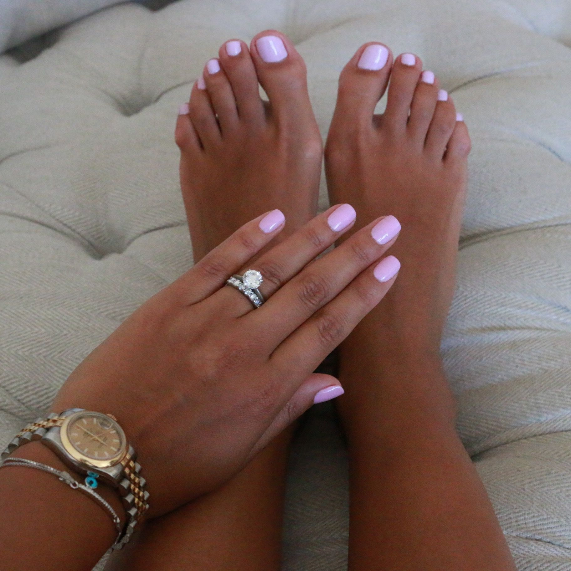 Pin By Michelle Ashley On Nails Pink Toe Nails Summer Toe Nails Light Pink Nails