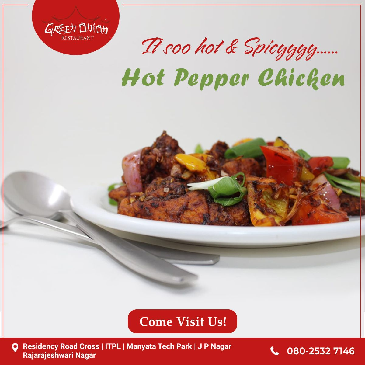The Best Chinese Hot Pepper Chicken In Town Visit Our Nearest Green Onion Restaurant Along With Yo Stuffed Peppers Stuffed Hot Peppers Chicken Stuffed Peppers