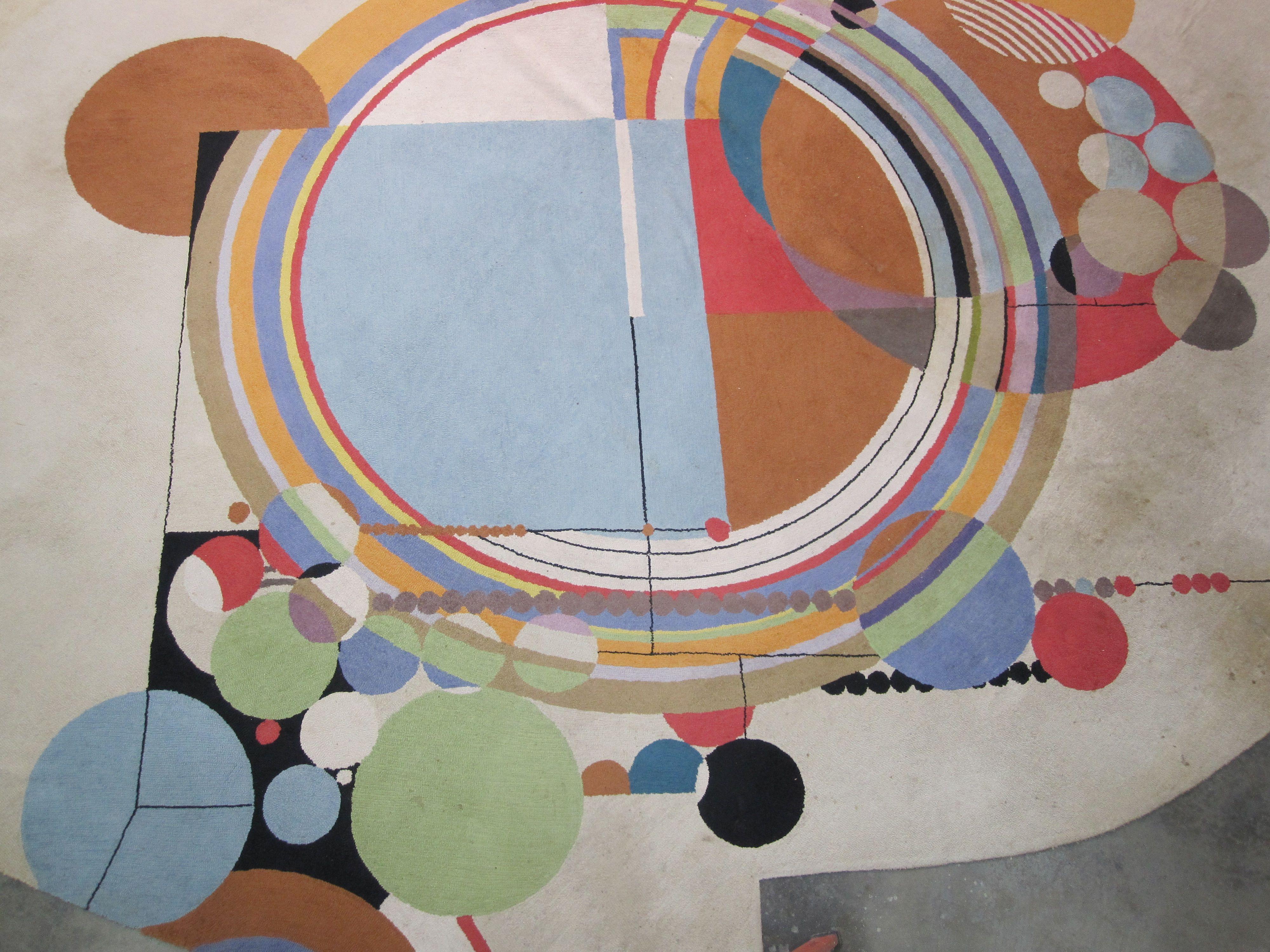 Frank Lloyd Wright Rug Revealed With