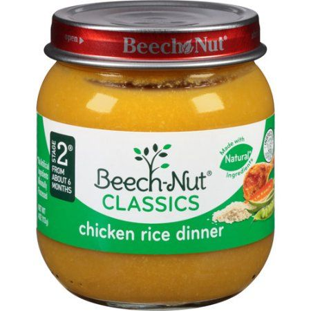 Beech Nut Stage 2 Chicken Rice Dinner Baby Food 4 Oz Products