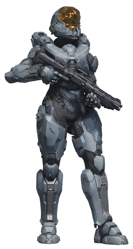 Halo 5 Spartan-II Kelly-087 (Blue Team) by ronmarz1 | Sci-Fi és ...