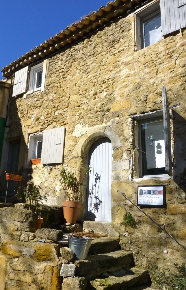 Streets Of Lourmarin In February Provence France Provence