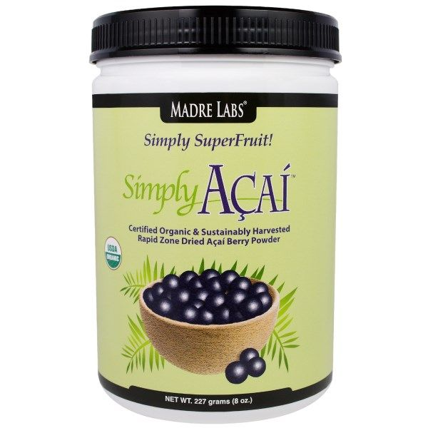 EXTRA SALE on #iHerb Madre Labs Simply Acai Organic Powder 44% + $5 OFF - Now $14,99 #RT Discount applied in cart