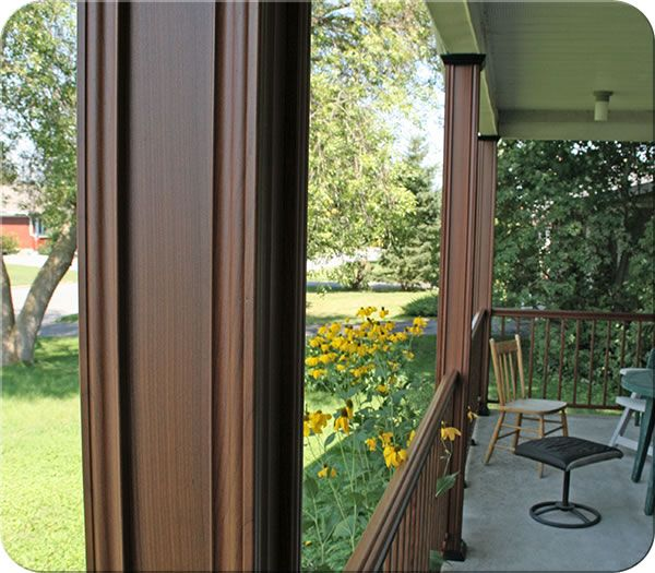 Structural Aluminum Porch Post Fence All