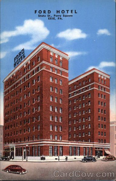 ford hotel erie pa this has now currently become the richford arms apartments building