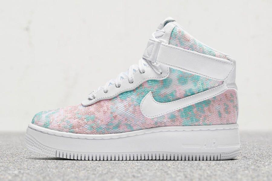 Nike Air Force 1 Upstep Hi LX Glass Slipper | Sneakers nike
