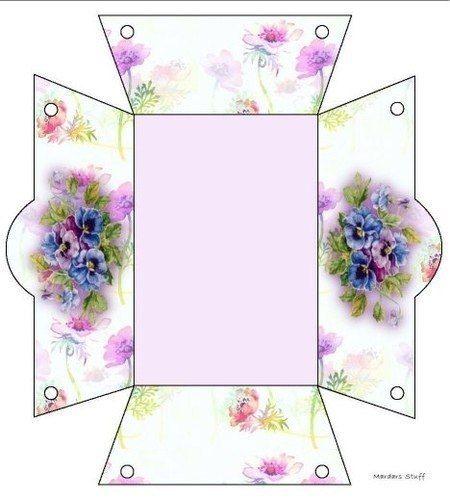 Ideas para el hogar patrones listos para imprimir cajas for Ideas para el hogar