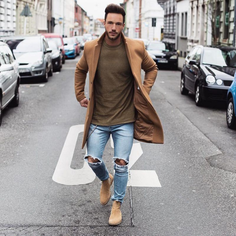 how to wear chelsea boots and jeans  mens fashioncat