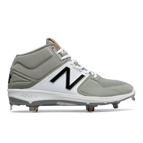 new balance men's m3000v3 mid metal cleats